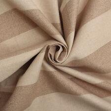 Next Lawson Stripe Light Natural Beige Sofa Upholstery Fabric