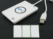 Contactless smart Reader Writer USB SDK Mifare IC Card For NFC ACR122U RFID