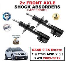 2 x Amortisseurs avant pour SAAB 9-3X BREAK 1.9 TTiD AWD 2.0 T XWD 2009-2012