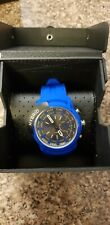 Diesel hybrid Unisex Men's Women's Ladies Girl's watch DZT1017 Silicone Blue