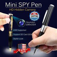 Mini Camera Pen USB Hidden DVR Camcorder Video Audio Recorder Full HD 1080P 2019