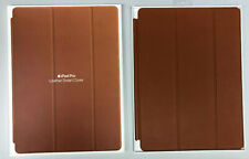 """Genuine Apple Ipad Pro 12.9"""" Leather Smart Cover Saddle Brown 1st /2nd Gen Only"""