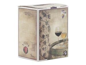 5 litri Vino Rosso Sangiovese Bag in Box Vino Sfuso Vino artigianale 13,5°