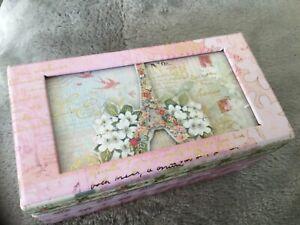 Punch Studio Soap Verbena  113g Musical Box Keepsake box  BN  plays ode to Joy