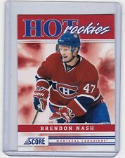 MINT ROOKIE! 2011-12 PANINI HOT ROOKIES NO. 515 BRENDON NASH MONTREAL CANADIENS