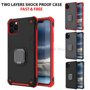 Shockproof Metal Ring Case Cover For Huawei P30 P30 Pro P20 P20 LITE Mate 30, Y6