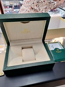 "Empty Green Rolex ""Presentation"" Watch Box with Booklets, and Tag(No Watch)"