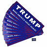 TRUMP MAKE AMERICA GREAT AGAIN Stickers US President Election Donald 10Pcs