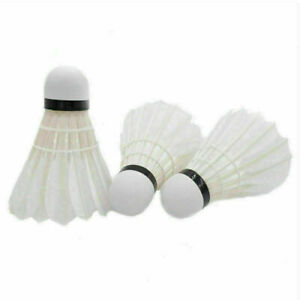 Shuttlecocks Goose Feather Badminton Ball Sport Training Game Supplies