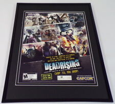 Dead Rising 2005 XBox Framed 11x14 ORIGINAL Vintage Advertisement