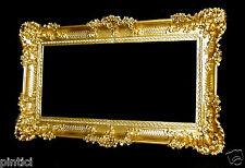 Bilderrahmen Barock Gold Hochzeitsrahmen Antik 96x57 Bilderrahmen Groß xxl