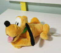 DISNEY PLUTO DOG CHARACTER TOY PLUSH TOY 16CM LONG KIDS TOY! DISNEY STORE