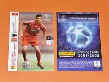 XAVI ALONSO LIVERPOOL REDS FOOTBALL CARDS PANINI CHAMPIONS LEAGUE 2007-2008