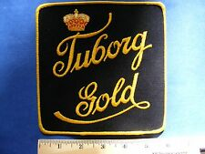 tuborg gold patch  (large square)