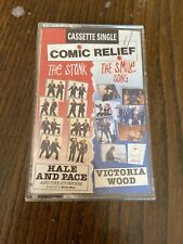 "Comic Relief 1991 Cassette Single ""The Stonk"" Hale & Pace + Victoria Wood"