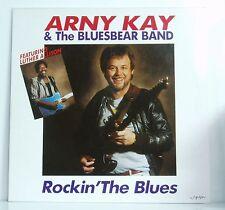 LP Arny Kay & The Bluesbear Band feat Luther Allison Rockin' the Blues Synton NM