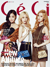 CECI MAGAZINE 2015 SEPTEMBER GIRLS' GENERATION TAETISEO HYOYEON CLIPPINGS PAGE