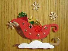 EXCLUSIVE CHRISTMAS SLEIGH DIE CUTS FOR CARD TOPPERS