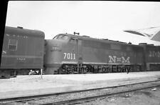 ORIGINAL PHOTO NEGATIVE-Railroad Mexico NDeM #7011 May 1969