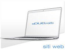 realizzo SITI WEB SITO INTERNET professionale wordpress blog personalizzato