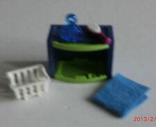 11539   Playmobil Aus Set 4285 Bad Schrank Regal Mit Korb Bürste Handtuch