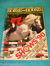 HORSE and HOUND - MARK PHILLIPS ON EVENTING - MARCH 1 1990