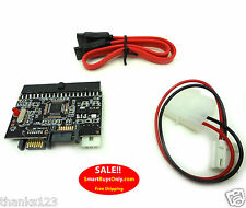 IDE SATA Converter, Supports ATA 100/133 Conversion Board and Cables (LOT OF 10}