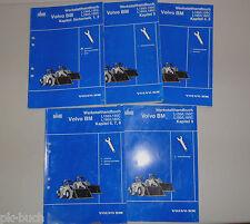 Workshop Manual Volvo Wheel Loader Bm L150/L150C/ L180/L180C/ 5 Volumes