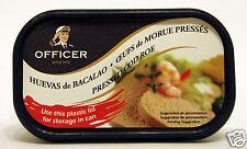 BORNHOLMS Officer Pressed Cod Roe 200G, HUEVAS de BACALAO, ŒUFS de MORUE PRESSÉS