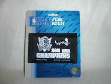 DALLAS MAVERICKS  2011 CHAMPS  Nylon TriFold WALLET   New on Package!