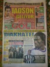 NEWSPAPER TRABZONSPOR - LIVERPOOL, HJK - Besiktas, Fenerbahce - PAOK 2010 (2)