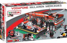 COBI - McLaren Mercedes Formula 1 Car & Garage 1,000 Piece Block Set #NEW