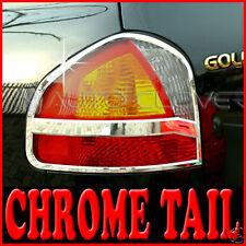 Chrome Tail Light Lamp Cover For 01 04 Hyundai Santa Fe
