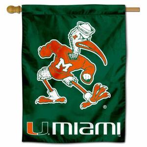 University of Miami Throwback Vintage 3x5 College Flag