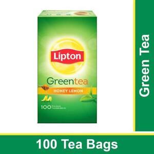 Lipton Honey Lemon Green Tea Pack of 100 Tea Bags