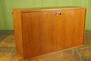 String Regal Teak 60s Sideboard Schrank Vintage Sekretär Danish für Hairpin 60er
