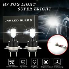 H7 CREE CSP LED Headlight Bulbs Kit Super High/Low Beam 10000LM 6500K White 160W