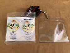 Disney Cruise Line Castaway Club Pin Gift New Mickey Member Cruise Lanyard pin