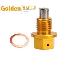 For Suzuki SV1000S 2003-2007 Magnetic Engine Oil Drain Plug Bolt