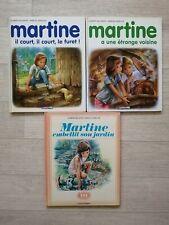 Lot 3 livres enfants : Martine