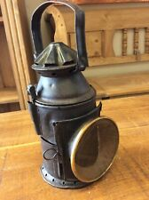 Original Antique Indian Railway Lantern