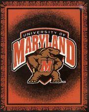 Maryland University 48x60 College Triple Woven Jacquard Blanket by Northwest
