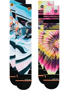 Stance Womens Mountain 2 Pack Snow Socks in Multi
