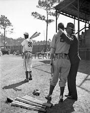 1946 Jackie Robinson Montreal Royals Spring Training Black & White 8 X 10 Photo