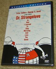 Dr. Strangelove or: How I Learned to Stop Worrying and Love the Bomb (Dvd), New!