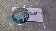 Handcrafted Fabric Covered Button Pin By Tangents  NOS