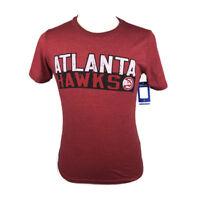 NBA Atlanta Hawks Mens Premium Triblend Crew T Shirt Small Red