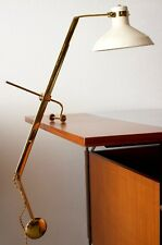 Rare Libra-Lux table lamp by Roberto Menghi for Lamperti & Co, Italy, 1948