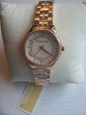 dad7162e81d1 Michael Kors MK3716 Women s  Lauryn  Quartz Stainless Steel Rose Gold Watch