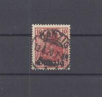 Danzig Mi.Nr. 2a, 10 Pfg. Freimarke 1920 gestempelt, geprüft BPP (29687)